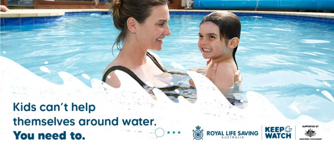 Keep Watch Around Pools